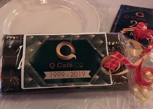Q cafe Chocolate Bar