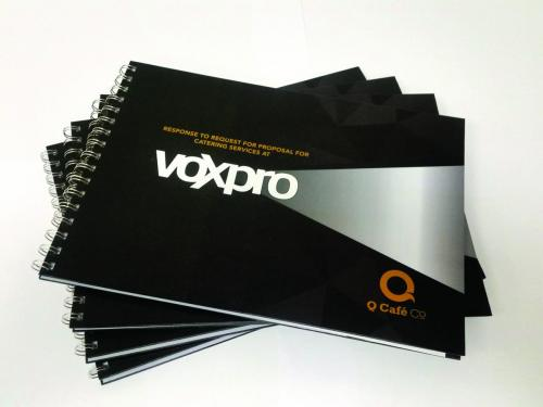 VOXPRO Tender book