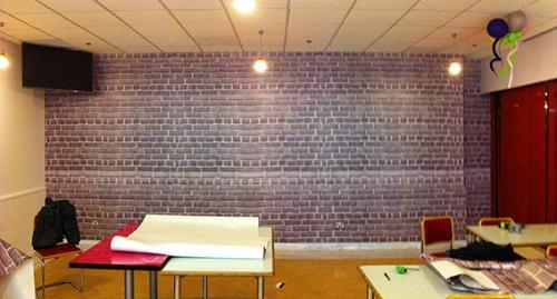 Finish Brick Wall